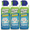 Max Pro Blow Off 152-112-232 Canned Air Duster - 3 Pack