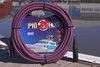 Pig Hog PHM20RPP Purple Woven High Performance XLR Microphone Cable, 20 Ft