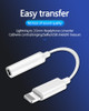 For iPhone Headset Headphone Adapter 8 Pin to 3.5mm Cable Dongle