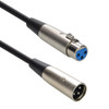 15ft XLR Male to Female Balanced Audio Cable