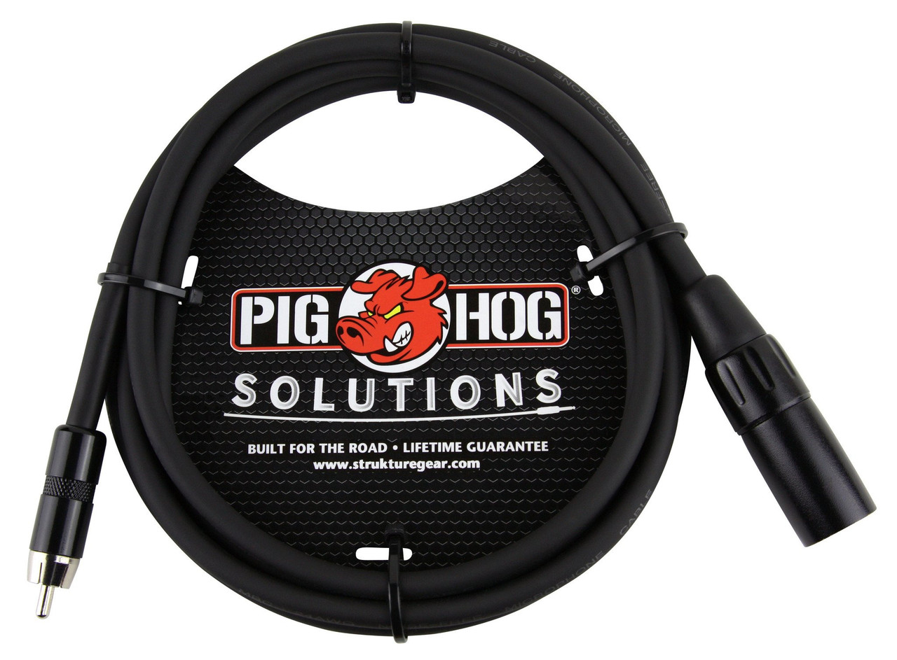 6ft XLR(M)-RCA CABLE