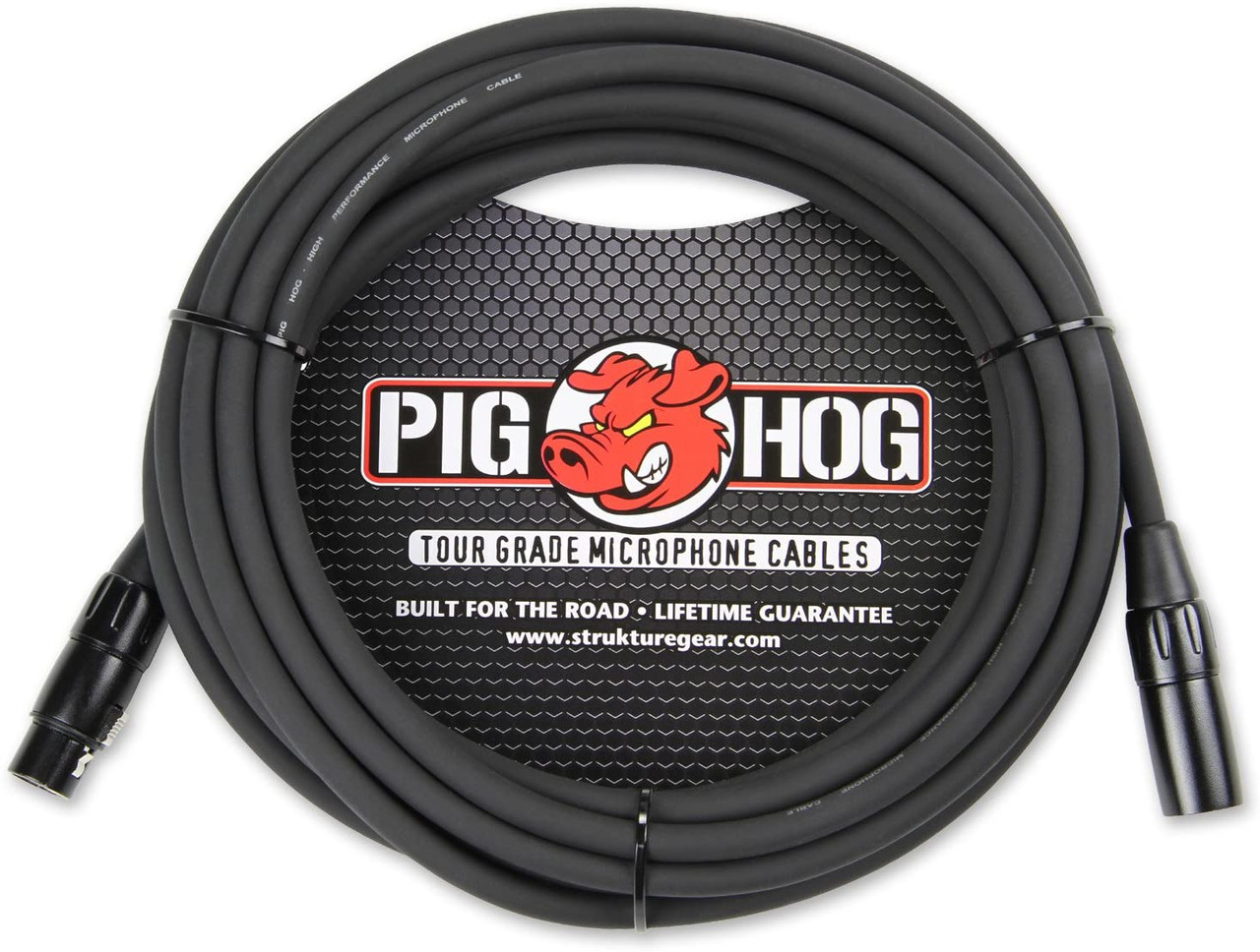 Pig Hog PHM50 50ft XLR 8mm Microphone Cable