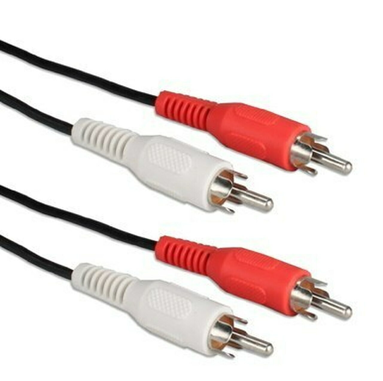 2 RCA MALE TO 2 RCA MALE AUDIO CABLE