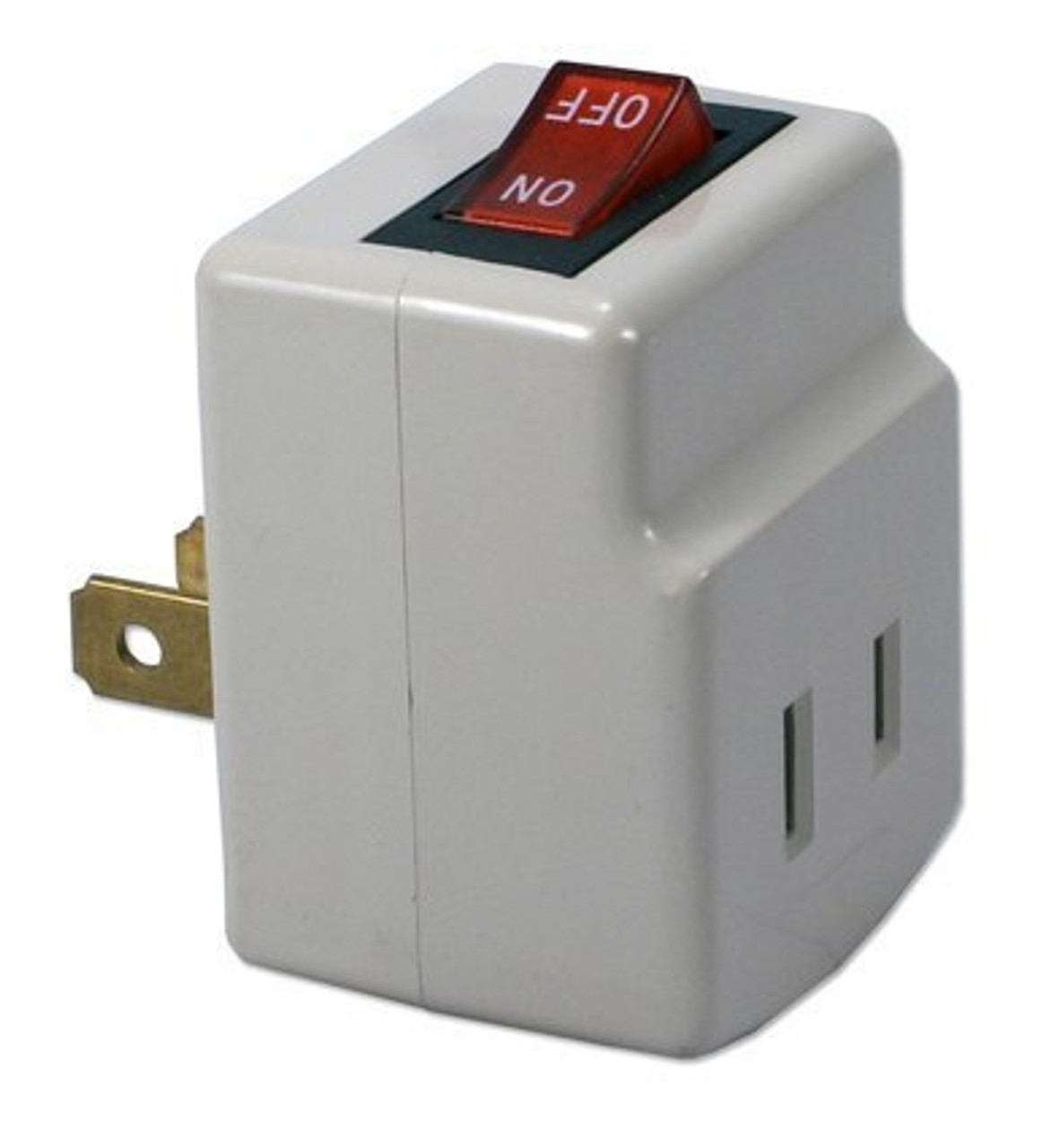 QVS PA-1P Single Port Power Adapter with Lighted On/Off Switch