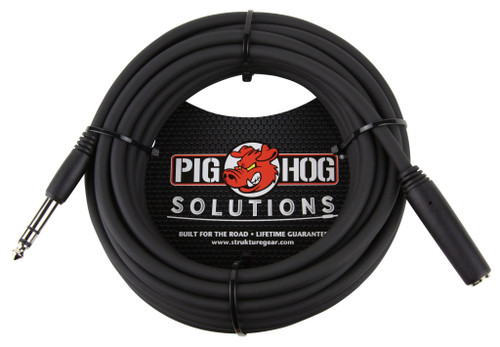 """25ft Headphone Extension Cable, 1/4"""""""
