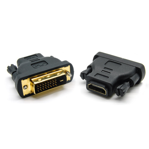 DVI-D Dual Link-M (24+1) to HDMI-F Adapter