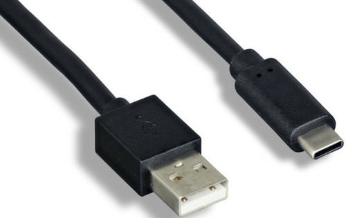 2-Meter USB 2.0 Type A Male To Type C Male Cable