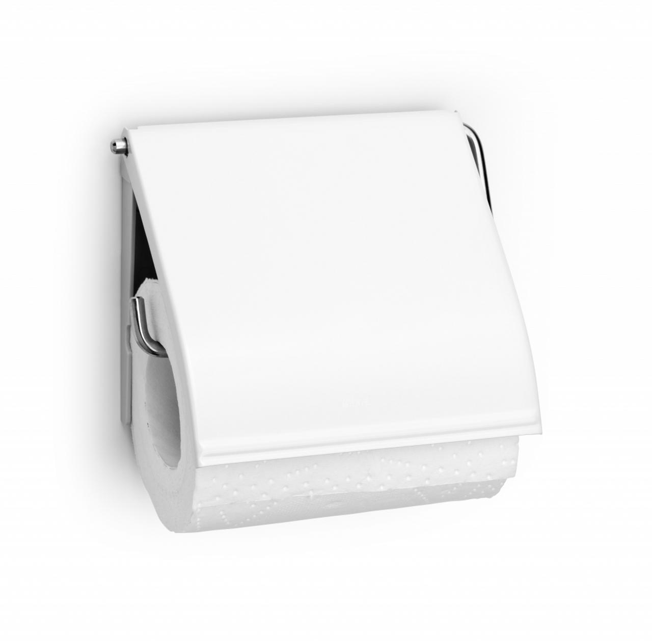 Brabantia Toilet Roll Holder Classic - White