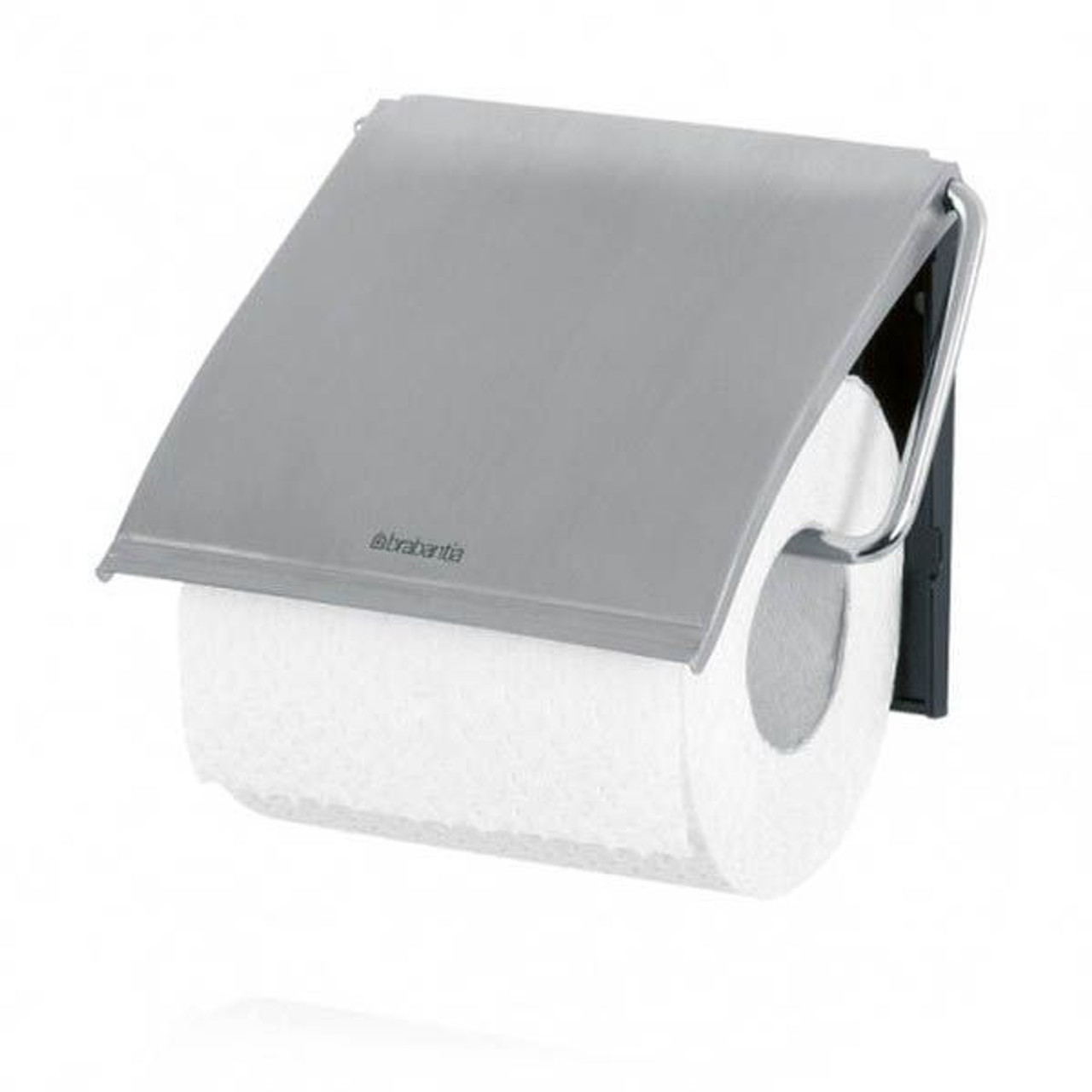 Brabantia Toilet Roll Holder Classic - Matt Steel