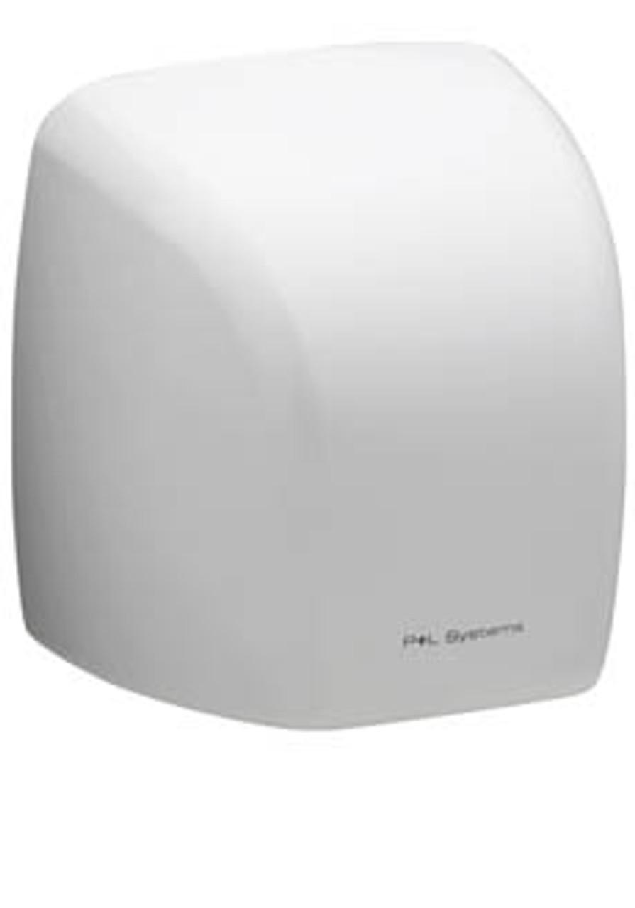 P+L 2100 Watt Hand Dryer - White Metal