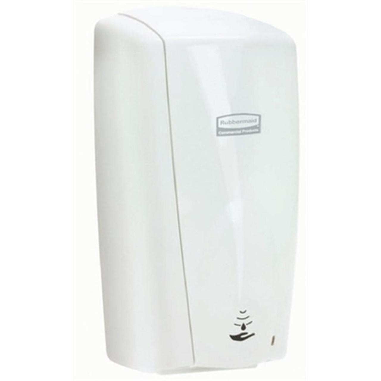 Rubbermaid White Autofoam Dispenser with Alcohol Plus Hand Rub Bundle
