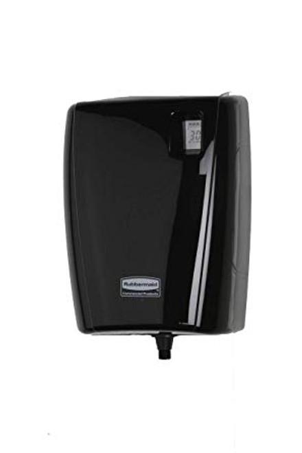 Rubbermaid Dispenser Autocleaner LCD - Black