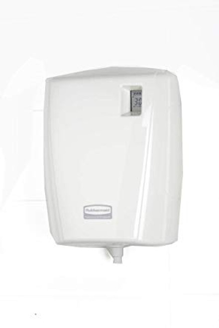 Rubbermaid Dispenser Autocleaner LCD - White