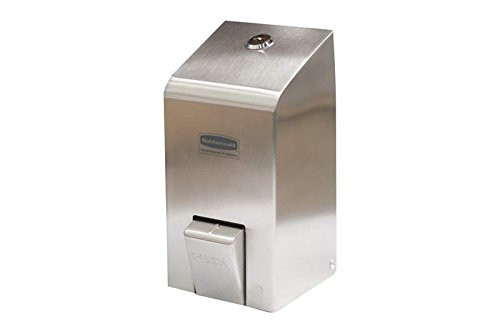 Rubbermaid 400ml Rubbermaid Spray Soap  Dispenser Stainless Steel