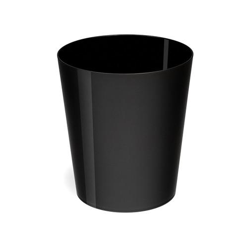 Osco High Gloss Black Plastic 29cm Bin - 11.3L