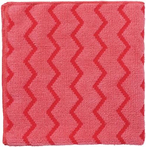 Rubbermaid Hygen Microfibre Cloth - Red