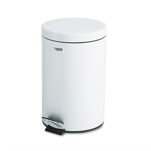 Rubbermaid Small Pedal Bin (With Plastic Liner) 13.2 L - White