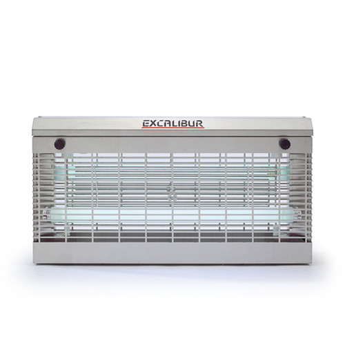 Insect-O-Cutor Electric Killing Grid Fly Killer Excalibur Industrial - 80 Watt - Stainless
