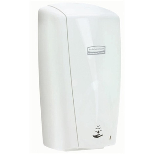 Rubbermaid White Autofoam Dispenser with Alcohol Free Hand Rub Bundle
