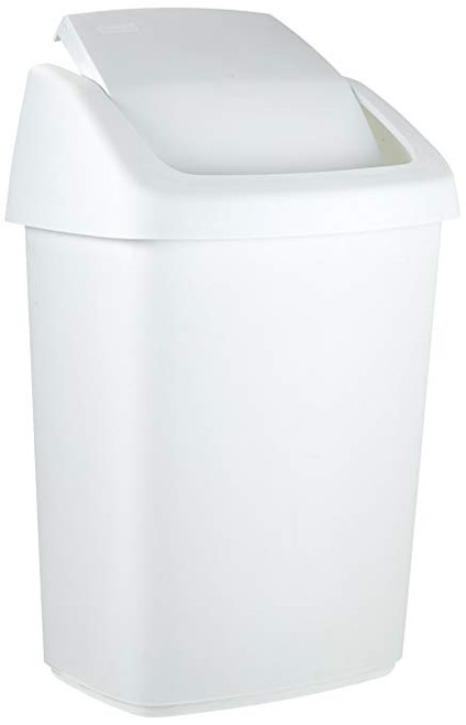 Rubbermaid Swing Top Bin, 10 L