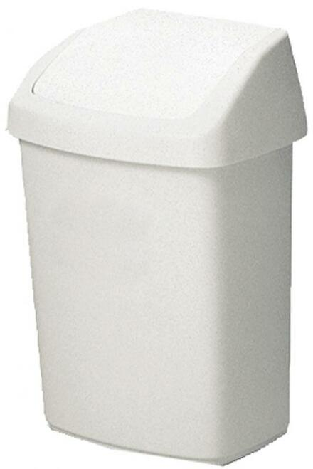 Rubbermaid Swing Top Bin, 25 L