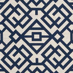 Grade D Sunbrella Lattice Indigo (+$150.00) -- 1456