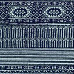 Grade D Sunbrella Batik Navy - (+$75.00)  --  4942