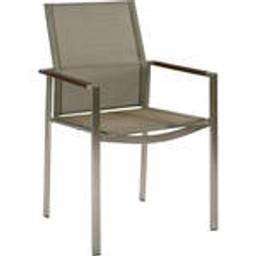 Graphite armrest with Platinum sling -- 1MEA.01.504