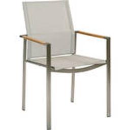 Teak armrest with Pearl sling -- 1MEA.505
