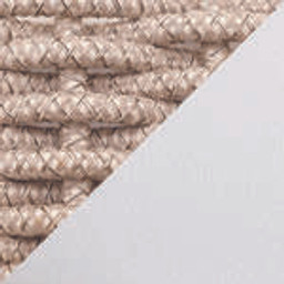 White Frame with Almond Rope -- 101520