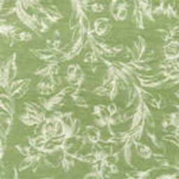 Grade C Sunbrella Toile Meadow White Flowers  (+$310.00) -- 1449