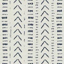 Grade C Sunbrella Mudcloth White Indigo (+$85.00) --1431