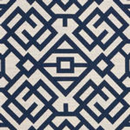 Grade D Sunbrella Lattice Indigo  (+$432.00) -- 1456