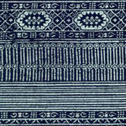 Grade D Sunbrella Batik Navy  (+$900.00) -- 4942