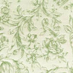 Grade C Sunbrella Toile White Meadow Flowers  (+$560.00) -- 1450