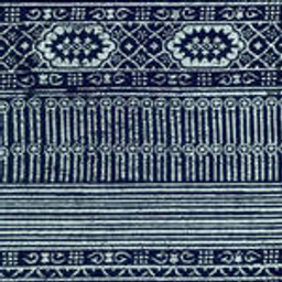 Grade D Sunbrella Batik Navy  (+$680.00) -- 4942