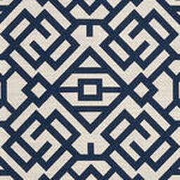 Grade D Sunbrella Lattice Indigo  (+$180.00) -- 1456