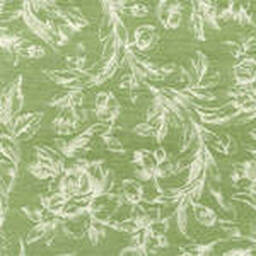 Grade C Sunbrella Toile Meadow White Flowers  (+$297.00) -- 1449
