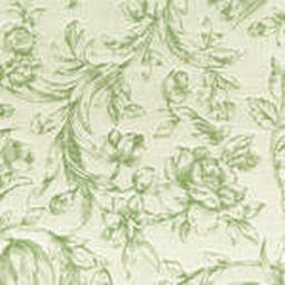 Grade C Sunbrella Toile White Meadow Flowers  (+$110.00) -- 1450