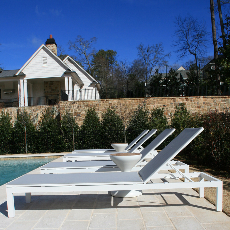 A Space for Outdoor Entertaining In Atlanta's Chastain Park