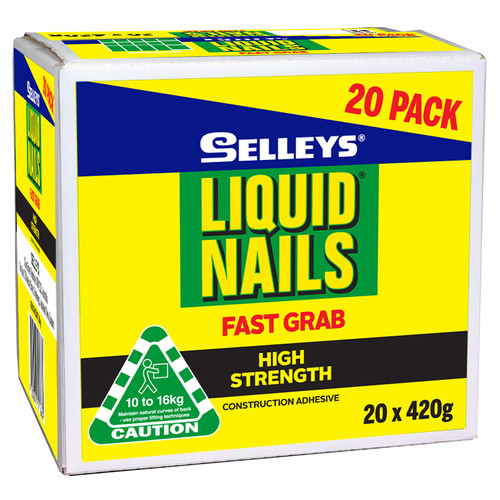 LIQUID NAILS F/GRAB TRADE 420G
