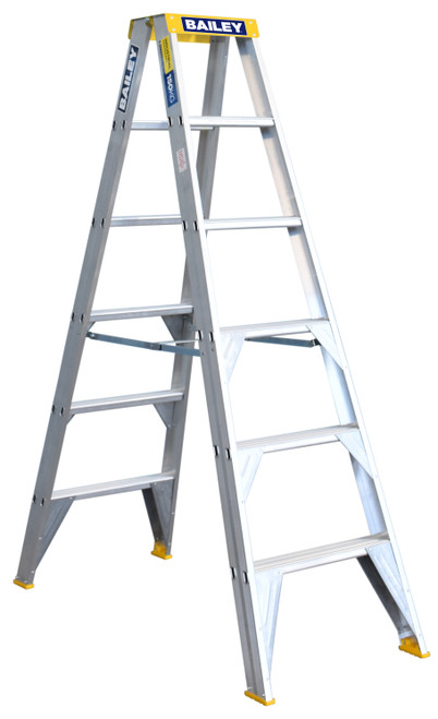6 (1.8M) D/SIDED BAILEY LADDER 150KG