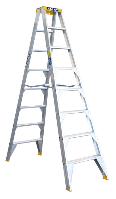 8 (2.4M) D/SIDED BAILEY LADDER 150KG