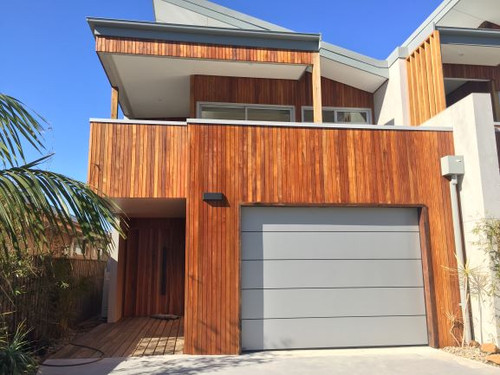 Wood Elements Spotted Gum Coulee Profile 88x21mm (70mm Cover)