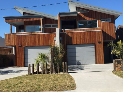 Wood Elements Spotted Gum Coulee Profile 68x21mm (50mm Cover)
