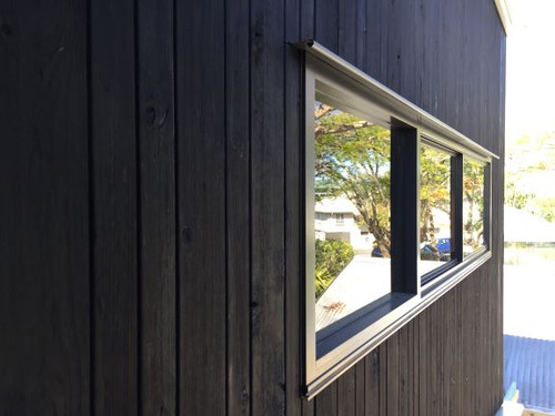 Shou Sugi Ban Architectural Cladding Coulee Profile 88x21mm (70mm Cover)