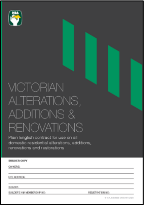 HIA Alterations, Additions & Renovations (2Pack)-  VAARC