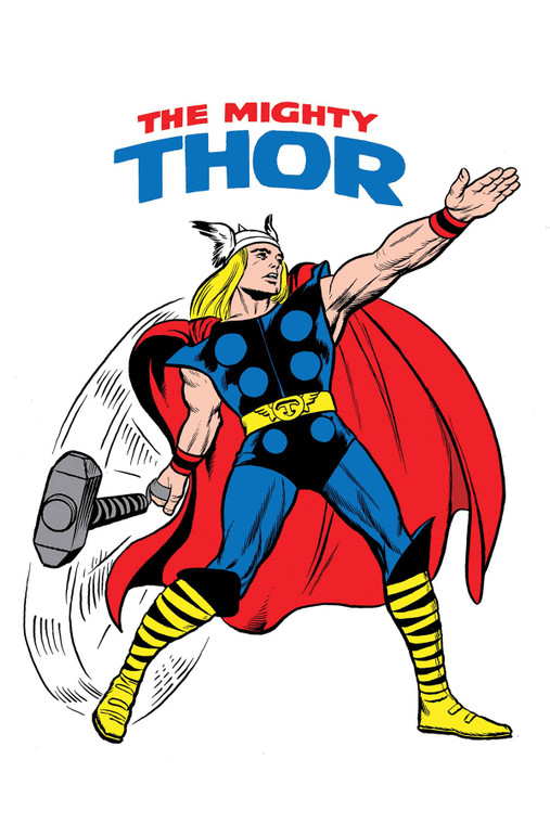 1:50 MIGHTY THOR #700 KIRBY 1965 T-SHIRT VARIANT