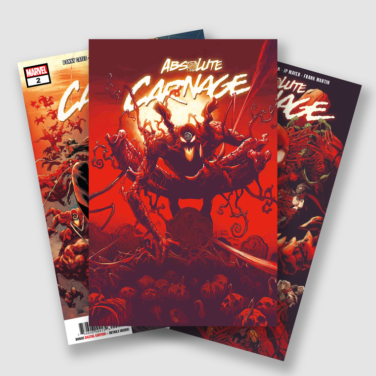 ABSOLUTE CARNAGE COMPLETE FIVE PART COMIC SET