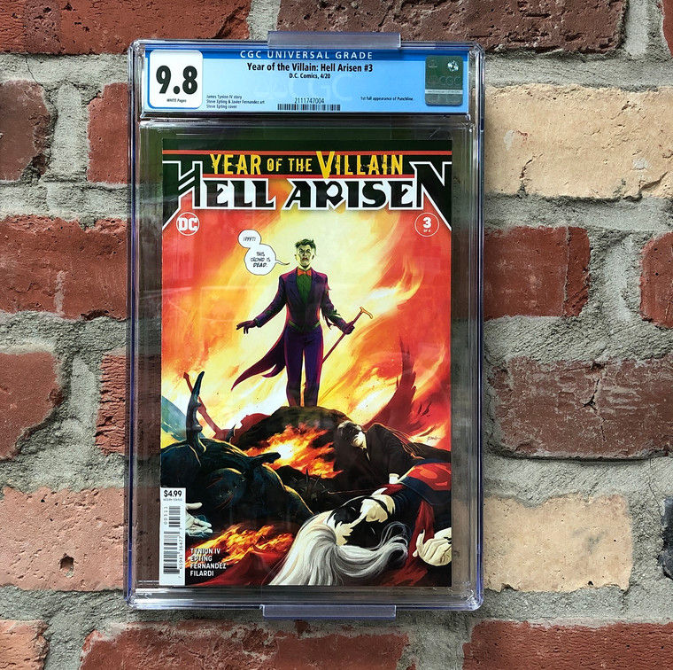 YEAR OF THE VILLAIN: HELL ARISEN #3 CGC 9.8